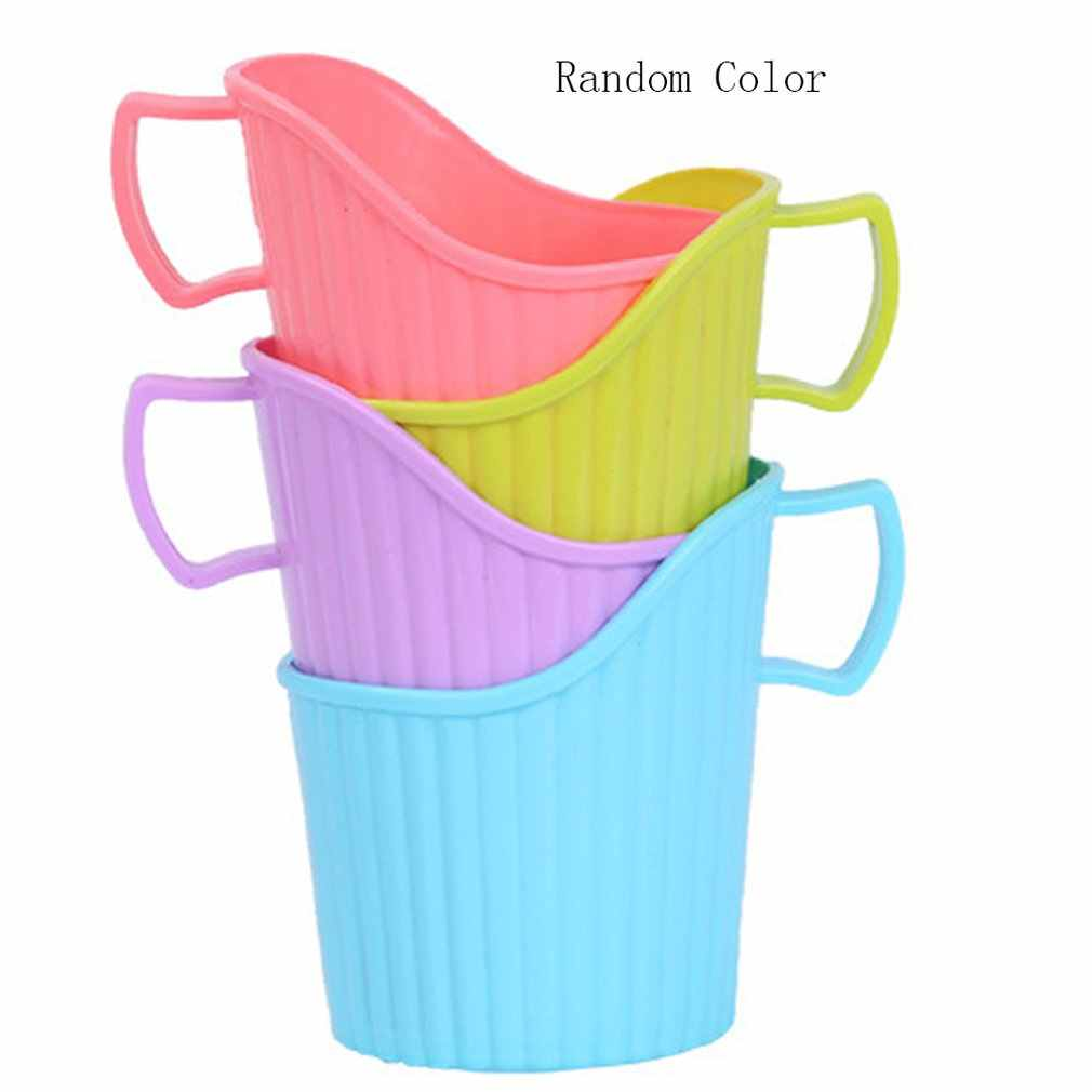Disposable Cup Holder Water Drink Bottle Cup Handle Holder Trail Cup Mug Travel Drinkware Portable Size