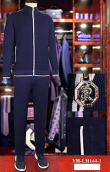 Мужская спортивная одежда BILLIONAIRE, тонкий комплект, весна 2020, новинка, модная повседневная M-4XL, хлопок, на молнии, для фитнеса, для улицы, с капю...