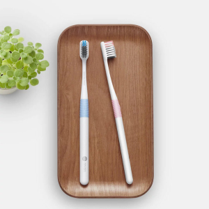 Image 2 - Original Doctor B Bass Method Tooth brush 4 Colors/set Include Travel Box DR.BEI Deep Cleaning Toothbrush