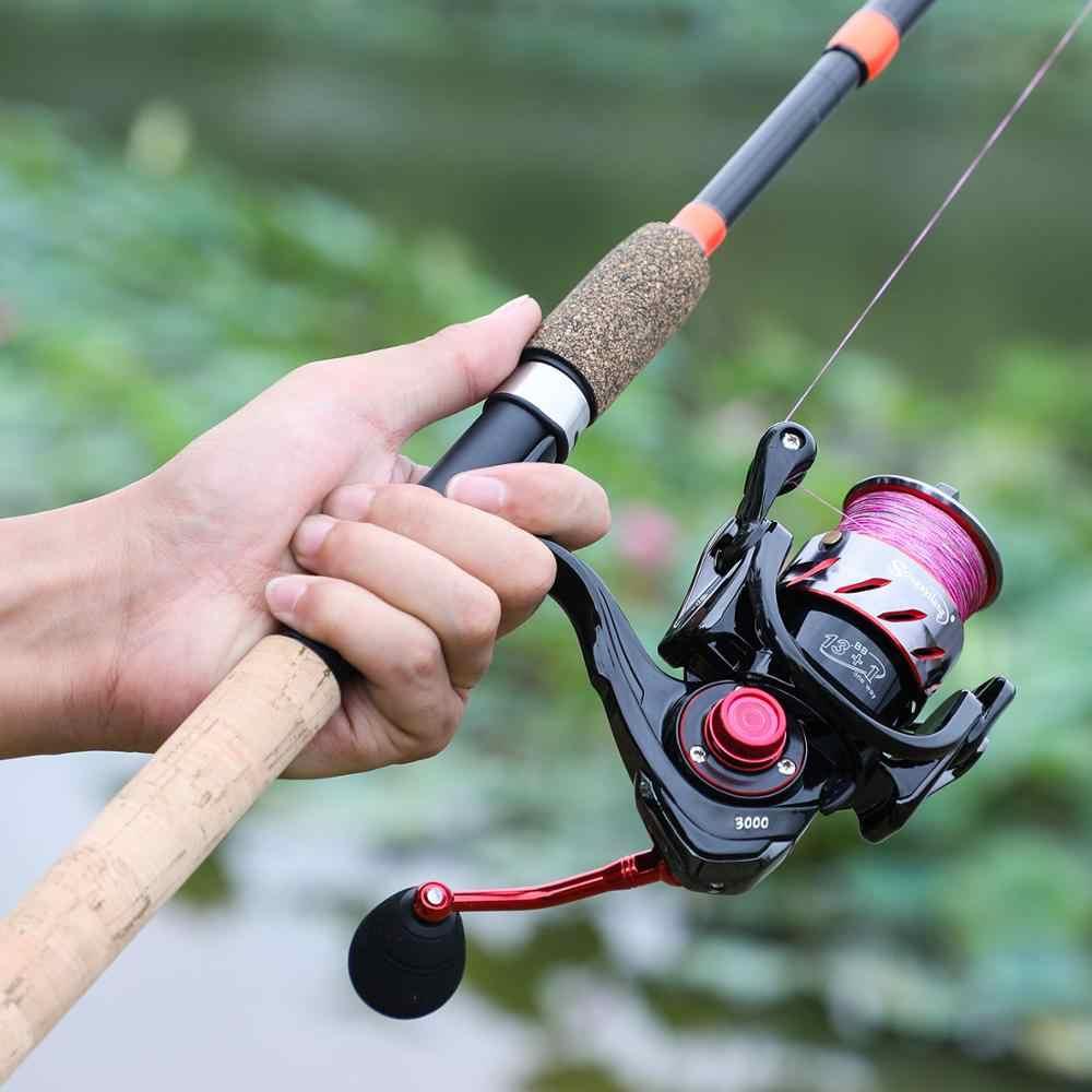 Sougayilang 3 M Feeder Rod L M H ตกปลา Rod Ultralight น้ำหนัก 6 ส่วนคาร์บอน SPINNING Travel Rod ตกปลา tackle De Pesca