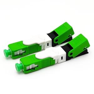 Image 5 - Unikit ftth ESC250Dシングルモードsc upc光ファイバsc pc組み込みタイプESC250D scコネクタ