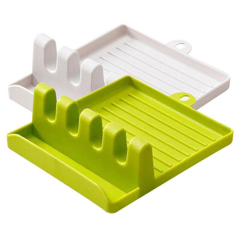 Silicon Kitchen Organizer Cooking Tool Holder Tableware Rack Spoon Storage Shelf