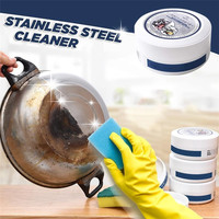 Кухонная Очищающая паста из нержавеющей стали 1 шт. 350 г кухонная многофункциональная Очистка от загрязнения пасты 0917 #30