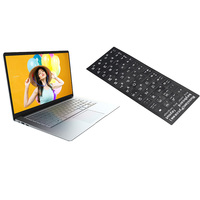 Jumper EZbook A5 14 Inch Laptop Russian Letters Keyboard Sticker 1080P Z8350 Quad Core 1.44GHz Windows 10 4GB LPDDR3 64GB EMMC N