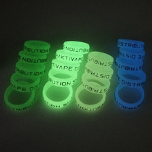 10/100/1000 teile/los Vape Silikon ring fluoreszenz nachtleuchtende vapeband 22*7mm Für RPM2 RPM40 RPM80 drag s x vinci x tfv8 baby