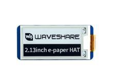 Waveshare 2.13inch E Ink display HAT for Raspberry Pi 250x122 Resolution e Paper SPI supports partial refresh Version 2