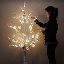 Рождественское украшение искусственные березовые огни европейская