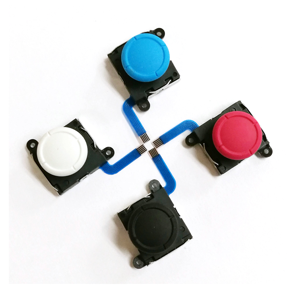 1pcs 3D Analog Joystick  Sticks Sensor Replacement For Nintend Switch NS Joy Con Controller Parts Repair  Black