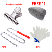 New Steel Wire Wool Grade 0000 3.3m For Polishing Cleaning Removing Remover Non Crumble With Tool