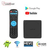 Leadcool Android 7.1 Smart TV BOX 1G 8GB Amlogic S905W Quad Core 2.4GHz WiFi Media Player Set Top Box Leadcool Receiver