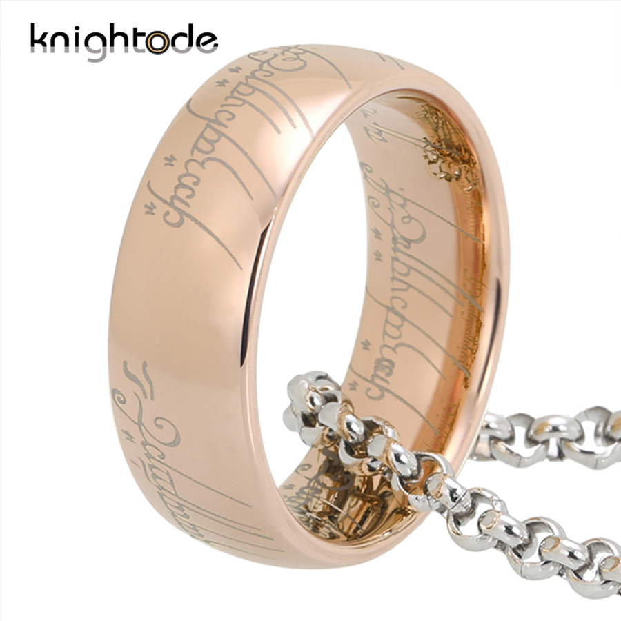 High Quality 6mm 8mm Tungsten Carbide Rings For Men Women Top Gold/Rose Gold/Black/Blue Plated And Regular Engraving Dome Band 3