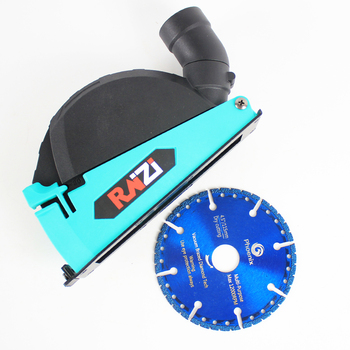 Raizi Cutting Dust Shroud For Angle Grinder Cover Tool With 115/125 mm Diamond Saw Blade Dust Collector Attachment vivian arend diamond dust