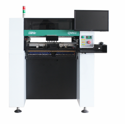 W pełni automatyczny PCB maszyna LED montaż SMT maszyna wysoka stabilność SMD maszyna do lutowania/6 głowic/64 podajniki/serwosilnik