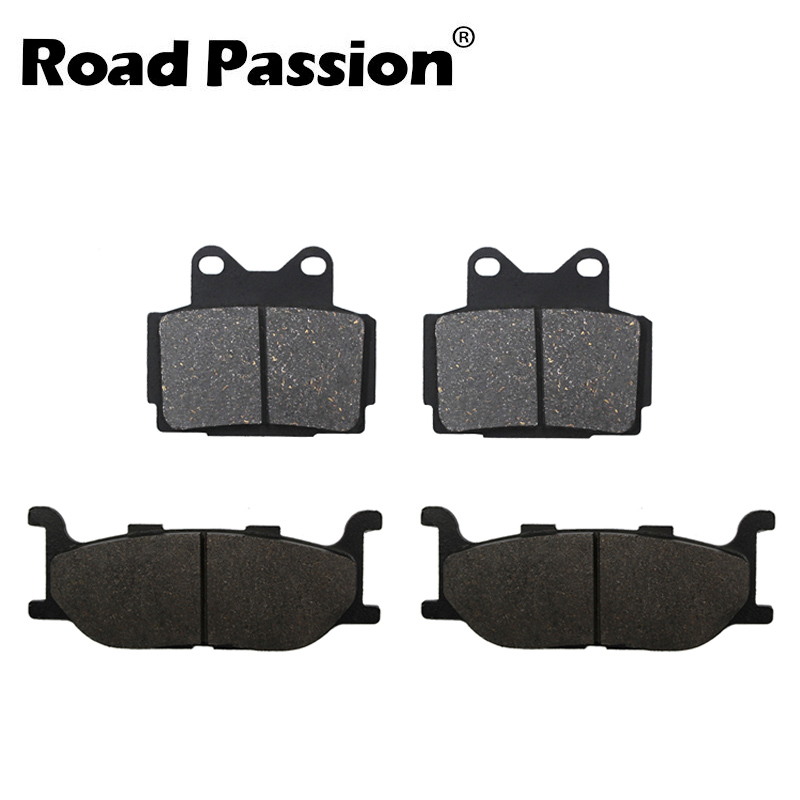 Motorcycle Front and Rear Brake Pads for <font><b>Yamaha</b></font> <font><b>XJ600</b></font> N XJ600S Diversion 600 1992 1993 1994 1995 1996 1997 image