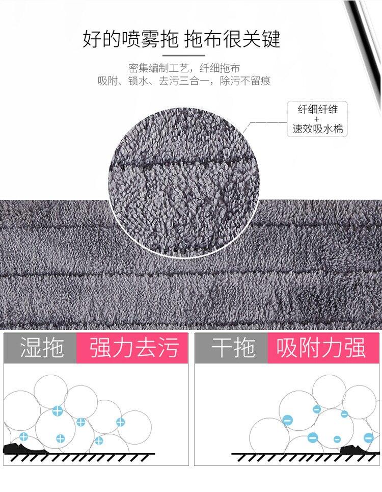 mágico piso de madeira plana mops 360