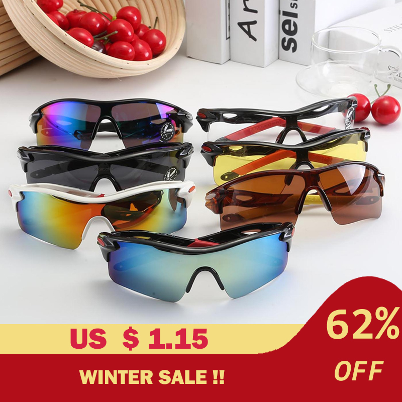 Outdoor Sports Cycling Eyewear Women Riding Goggles Motorcycle Bicycle Sunglasses Mountain Bike Glasses Cycle Equipment Unisex