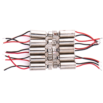5PCS/10PCS DC Micro Vibration Motor Cell Phone Coreless Vibrator 4.4x4.4mm DC 1.5-3V Motors & Parts Wholesale image