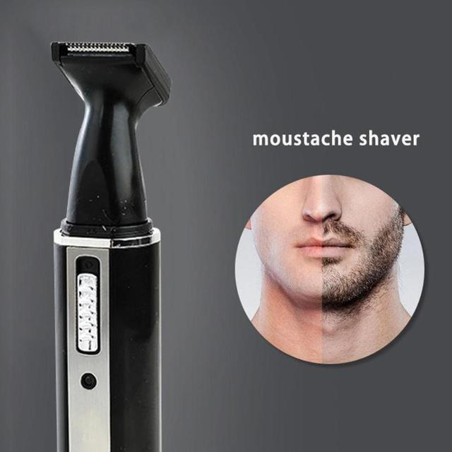 4 in 1 Nose Hair Trimmer Epilator Rechargeable Eyebrow Beard Shaver Razor Kit Face Care Tools 1