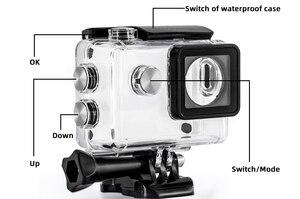 Image 4 - 30M étui étanche pour Eken H9 Sj4000 WiFi 4K Action Sport caméra plongée sous marine boîtier boîtier boîtier protecteur accessoires Kit