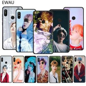 EWAU Jimin Handsome Soft TPU phone cover case for Xiaomi Redmi 4A 4X 5 5A 6 6A 7 7A Plus GO S2 K20 pro