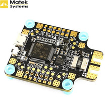 Matek MATEKSYS F405-CTR F405 AIO BFOSD STM32F405 Flight Controller Built-in PDB 5V/2A BEC SD Card Slot BMP280 for F4 RC Drone f cloud new arrivals matek f405 wing with osd f4 flying wing available for flight control