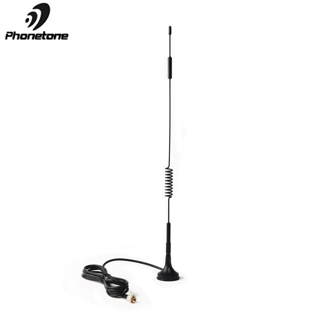 Magnetic Antenna Car Use 4G Lte Antenna For Signal Booster 3dBi 3G Antenna GSM Outdoor Magnet Antenna With SMA Female 1.5M Cable