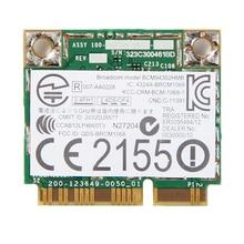 להקה כפולה אלחוטי AC עבור BCM94352HMB 867Mbps WLAN + Bluetooth BT 4.0 חצי Mini PCI E Wifi Wlan 802.11ac כרטיס DW 1550