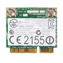 BCM94352HMB 용 듀얼 밴드 무선 AC 867Mbps WLAN + Bluetooth BT 4.0 하프 미니 PCI E Wifi Wlan 802.11ac 카드 DW 1550