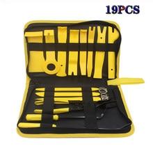 Conjunto de ferramentas de remoção do painel do carro mão kit de ferramentas de reparo pry kit de remoção de áudio instalador conjunto de ferramentas de mão dashboard kit de remoção