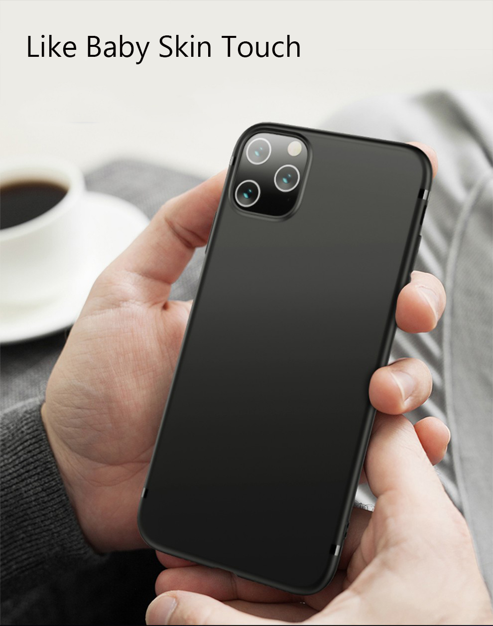 Lainergie Soft TPU Silicone Case for iPhone 11/11 Pro/11 Pro Max 11