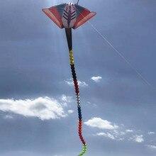 Большой 15 м кулон скат воздушный змей для взрослых мягкий воздушный змей открытый игрушки летающий Рипстоп нейлон albatross кайт завод
