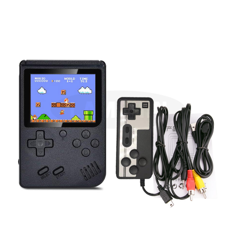 500 IN 1 Retro Video Game Console Handheld Game Portable Pocket Game Console  Mini Handheld Player for Kids Gift 4