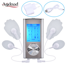 Body Massager Rechargeable Electric Pain Relief Machine 8 Modes Tens Unit Portable Pulse Massager Muscle Stimulator Pain Relieve