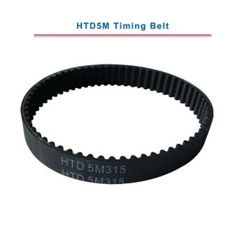 timing belt HTD5M length-290/295/300/305/310/315/320mm circle-arc teeth belt width 15/20/25mm teeth pitch 5mm free shipping 1pcs htd1540 14m 40 teeth 110 width 40mm length 1540mm htd14m 1540 14m 40 arc teeth industrial rubber timing belt