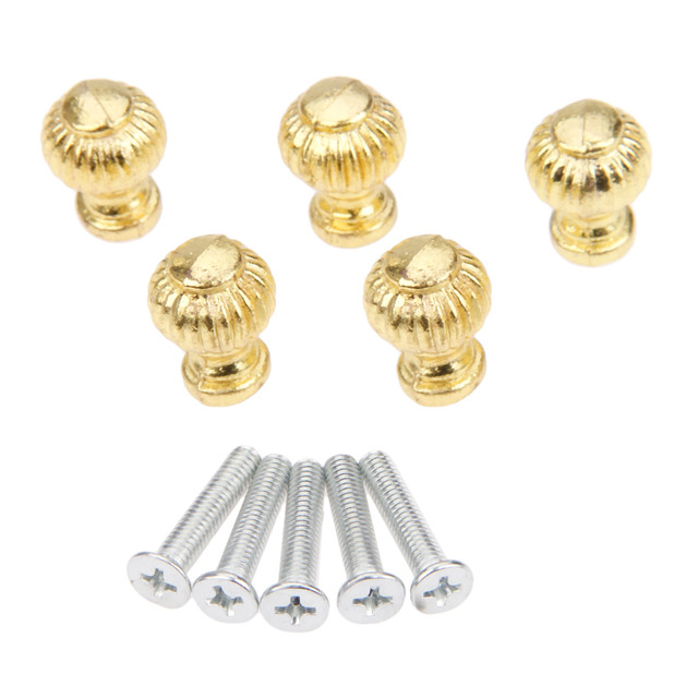 Фото золотые ручки для мебели 5 шт ящики шкатулок шкафов буфетов