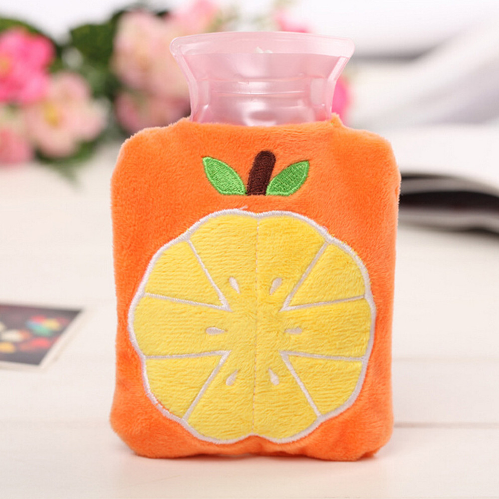 Mini hot water bag Cute Cartoon Hand Warm Hot Water Bottle Bottles Portable New