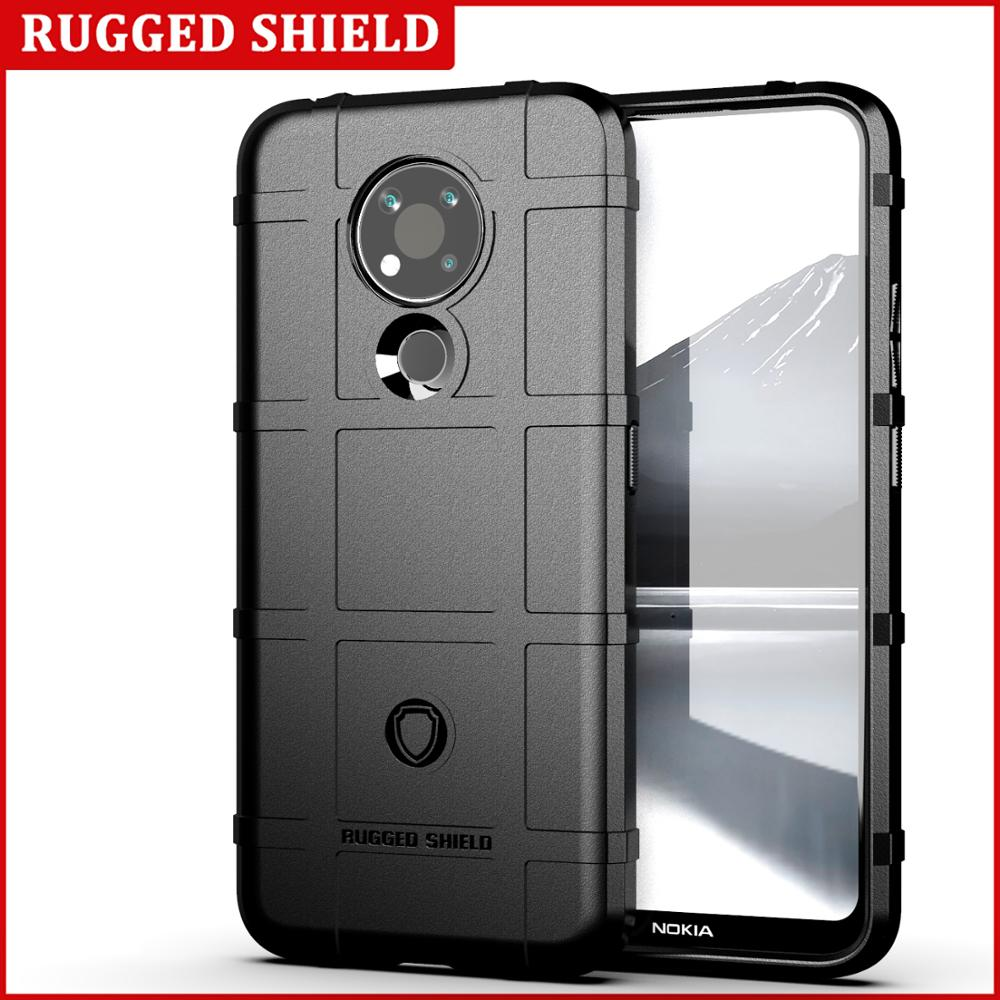 Full Protective Rugged Shiled Shockproof Case For Nokia 3.4 1.3 2.3 5.3 8.3 6.2 7.2 2.2 3.2 4.2 Soft TPU Silicone Back Cover