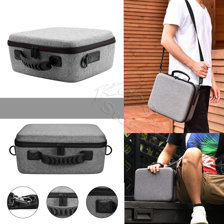 cheapest 2020 Deluxe Nintend Switch Big Capacity Case Nintendoswitch Console Handbags NS EVA Bag for Nitendo Nintendo Switch Accessories