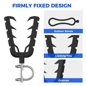 Image 4 - Arc simple pour Quad vélo, support rembourré, guidon unique pour moto, ATV UTV, tir à feu, v grip, VFGH, voiture de Golf et Scooter, modèle support étagères