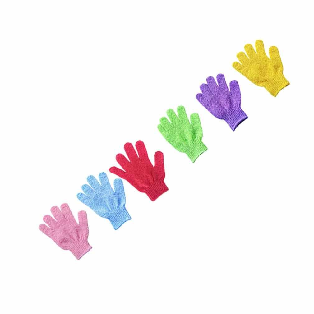 Shower Scrubbers Towel Gloves Massage Sponges Bath Scrub Brushes Bathroom Accessories