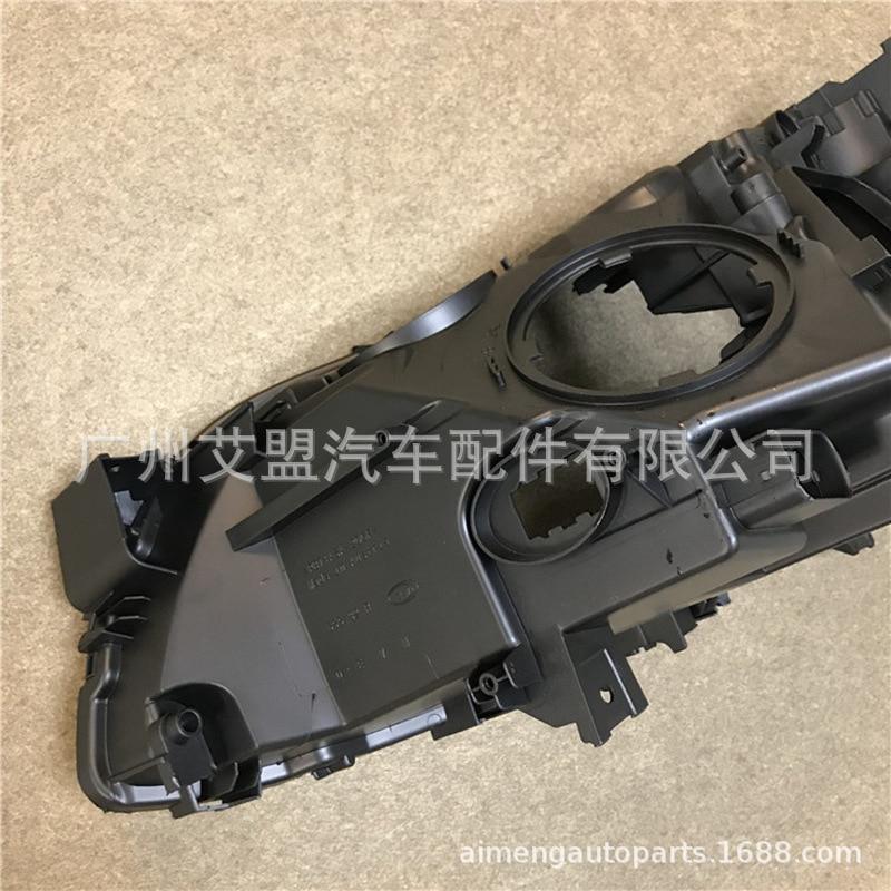 Fatto per BMW sette serie posteriore del faro shell 0915 BMW7 serie faro base F01F02 in plastica nera shell alloggiamento del faro - 5