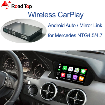 Wireless CarPlay for Mercedes Benz GLK 2011-2015, with Android Auto Mirror Link AirPlay Car Play Functions