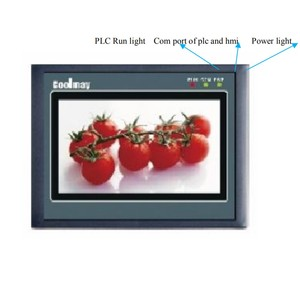 Image 4 - 4.3 HMI+PLC All in one Integrated Controller 4.3Inch Touch Panel DC24V Transistor Output Digital I/O 12DI 12DO RS232 FX2N