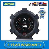 AUTOOL-medidores de velocidad X95 para vehículos todoterreno, velocímetro multifunción con pantalla HUD, inclinómetro, CE