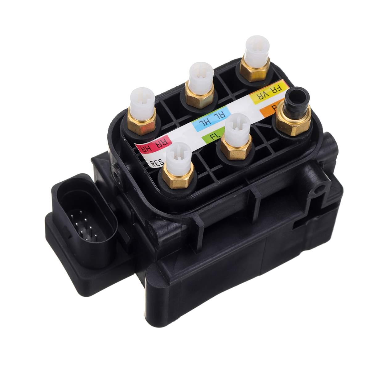 Valve Block Air Pump Suspension Supply A2123200358 1663200204 A251320005 For Mercedes-Benz W221 M-Class W164 GL X164