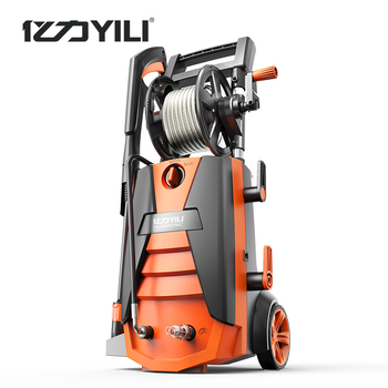 220V 50Hz brushless induction motor high pressure washing machine portable car washer floor cleaning 2100W 100-190bar 9LPM image