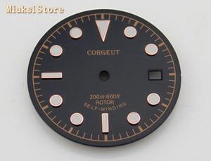Image 4 - Corgeut 1pcs 30.5mm Black Dial fitETA 2836/2824, Miyota 8205/8215/821A/82series,Mingzhu DG 2813/3804  movement