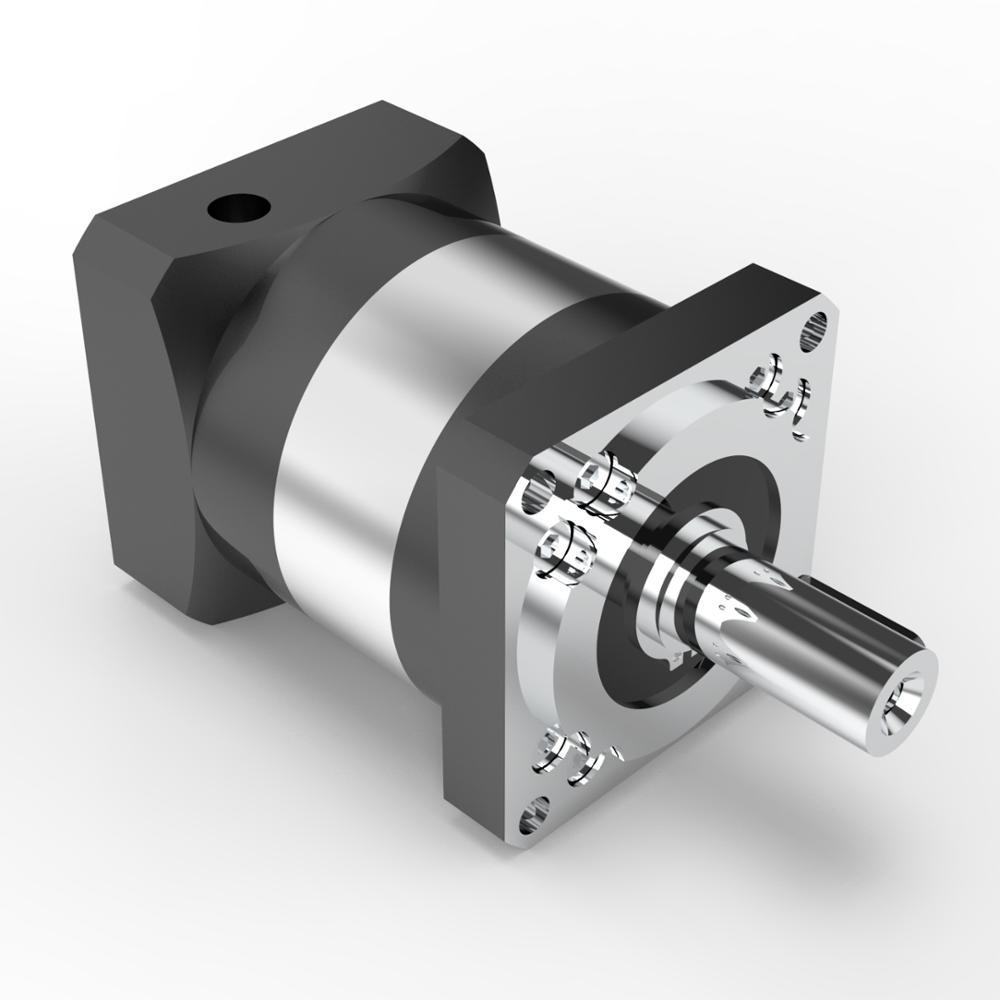 PLF60-10-S2-P2 60mm planeten getriebe minderer Verhältnis 10:1 für 200w 400w AC servo motor welle 14mm durchmesser