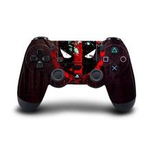 Movie Deadpool PS4 Controller Skin Sticker Vinyl Decal Sticker for Sony PlayStation 4 DualShock 4 Wireless Controller