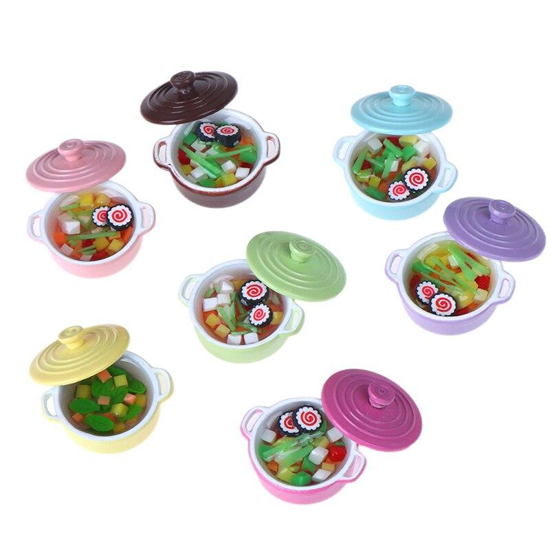 1:12 Échelle Vide Rice Pudding Peut Tumdee Poupées Maison Accessoire Cuisine